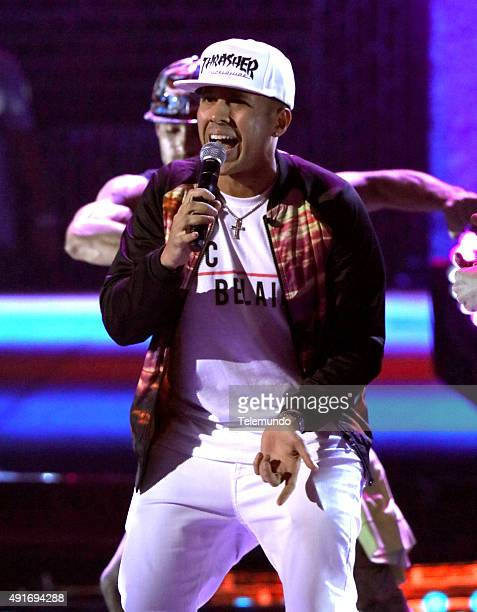Kevin Roldan rehearses for the 2015 Latin American Music Awards at The Dolby Theater in Hollywood CA on October 6 2015 LATIN AMERICAN MUSIC AWARDS...