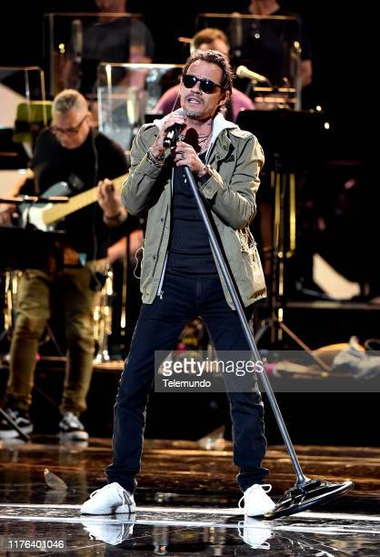 AWARDS Rehearsal PicturedMarc Anthony rehearses for the 2019 Latin American Music Awards at the Dolby Theatre in Hollywood CA on October 16 2019