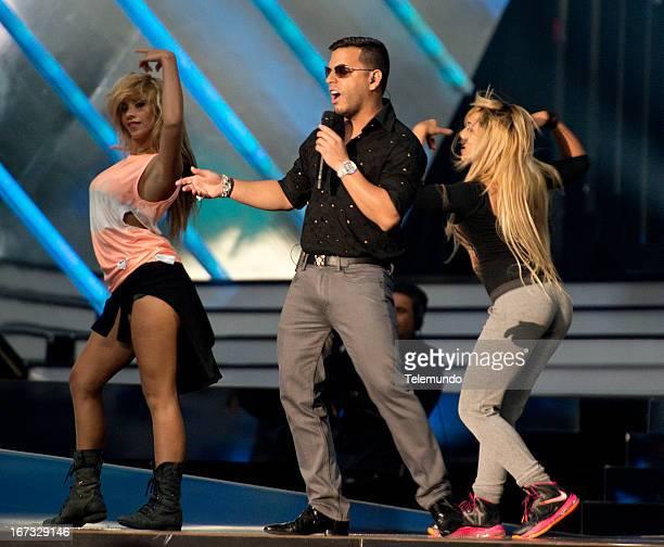 Tito El Bambino for the 2013 Billboard Latin Music Awards from Miami Florida at the BankUnited Center University of Miami April 22 2013