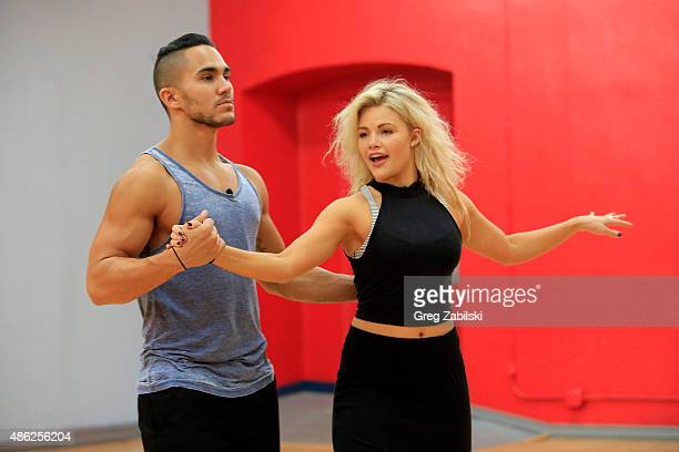 STARS Rehearsals Dancing with the Stars will kick off its 21st season on Monday September 14 on the Walt Disney Television via Getty Images...