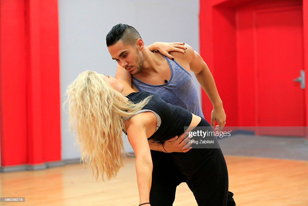 """ABC's """"Dancing With the Stars"""" - Season 21 - Rehearsals Week One : News Photo"""