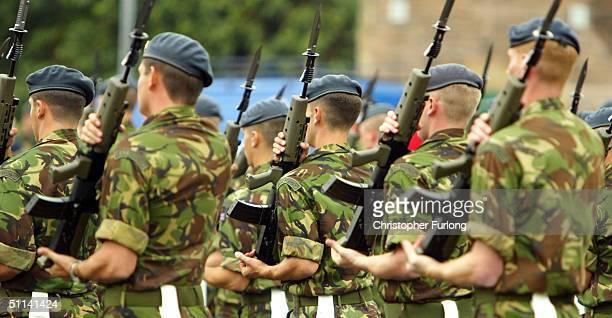 Rehearsals for Edinburgh Military Tattoo