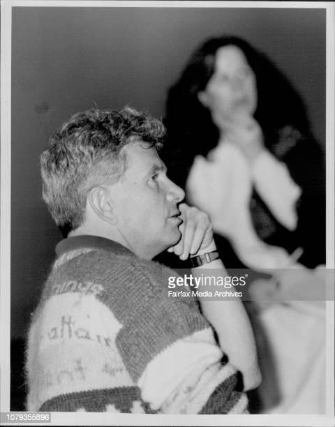 Rehearsals for new musical 'John JonesRichard Wherrett director September 05 1985