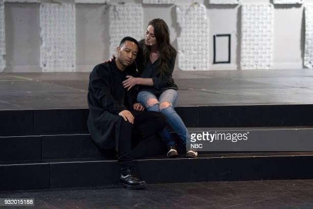 John Legend as Jesus Sara Bareilles as Mary