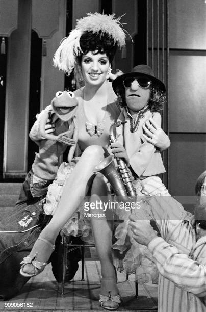 Rehearsing today at the ATV Studios in Elstree was Liza Minnelli with The Muppets her favourite pair are Kermit and the saxophone playing Zoot who...