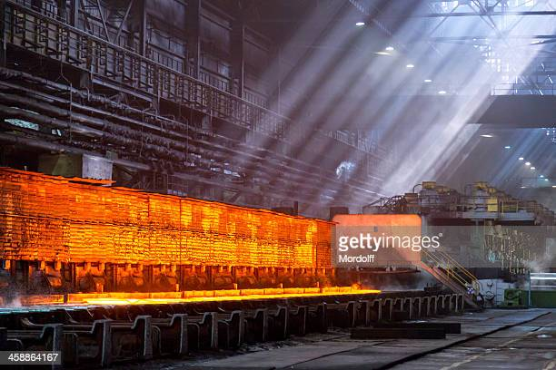 Reheating furnaces, Cherepovets Steel Mill, Russia