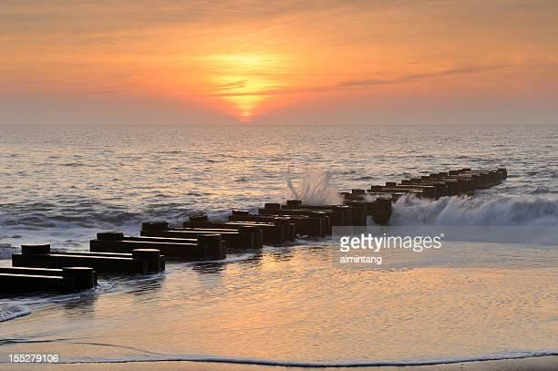 Rehoboth Beach at Sunrise