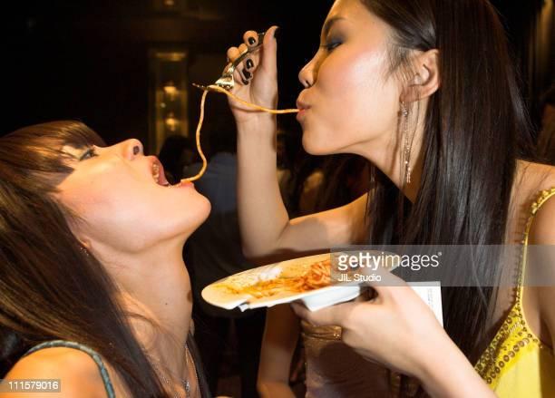 Rei Hamada and Riyo Mori during Miss Universe Japan 2007 KickOff Event at Shoto Gallery in Tokyo Japan