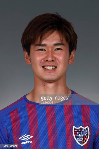 Rei Hirakawa poses for photographs during the FC Tokyo portrait session on January 8, 2020 in Japan.