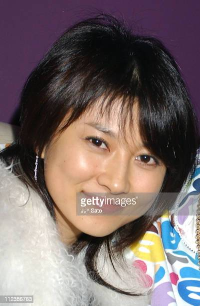 Rei Kikukawa during EA Games Hosts Def Jam Fight For NY featured Kanye West Party Backstage at Alife Club in Tokyo Japan