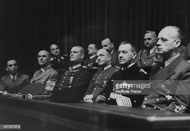 Reich Chamber Von Brauchitsch Keitel Dr Frick Dr Goebbels And Dr Todt Listening To The Fuhrer Speech On December 11Th 1941 In Germany