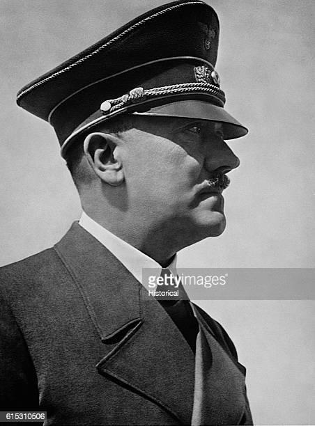 Reich Fuhrer and Kanzler Adolf Hitler commander of Nazi Germany during World War II
