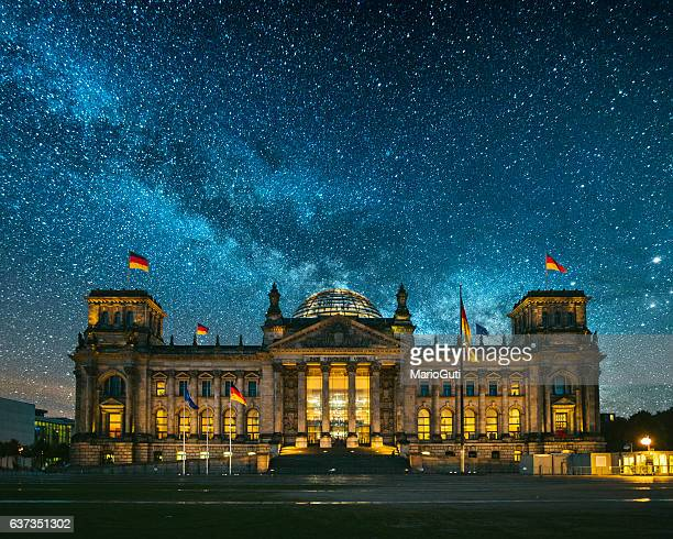 reichstag, berlin - bundestag stock photos and pictures