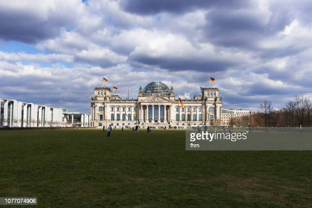 Reichstag building (german parliament building) - Berlin, Germany