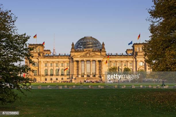 Reichstag building (german parliament building) - Berlin, Germany