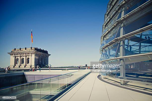 Reichstag Dome and Reichstag, Berlin