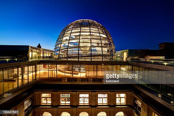 reichstag dome - bundestag stock pictures, royalty-free photos & images