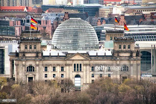 Reichstagsgebäude, the specific German word for Parliamentary buildings, often simply shortened to Reichstag.