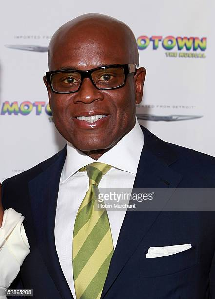 A Reid attends Motown The Musical Broadway Spring Launch Event at Nederlander Theatre on September 27 2012 in New York City