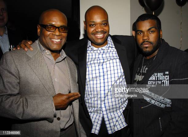 Reid, chairman of Island Def Jam Group, Phil Robinson, chief of staff for Island Def Jam Group and Rodney Jerkins, VP of A&R for Island Def Jam Group