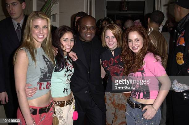 LA Reid Dream during The 28th Annual American Music Awards Arista Records After Party at St Regis Hotel in Century City California United States