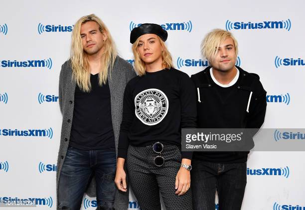 Reid Perry Kimberly Perry and Neil Perry of music group The Band Perry visit SiriusXM Studios on September 26 2018 in New York City