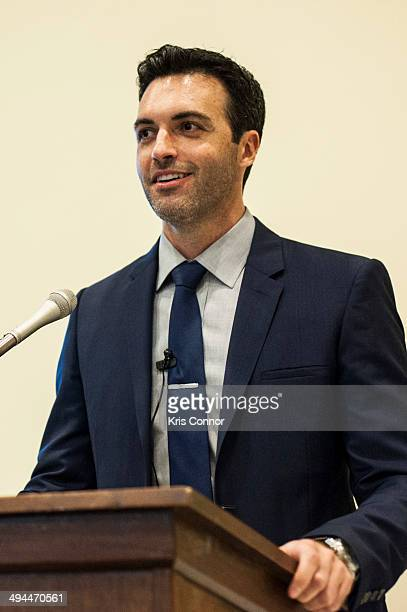 Reid Scott attends Visit No Laughing Matter Congressional briefing on the risks of Seismic Airgun Blasting in the Atlantic Ocean to fisheries and...