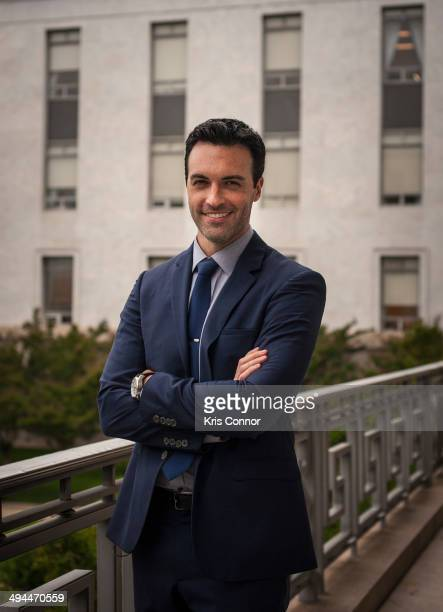 Reid Scott poses for a portrait at Rayburn House Office Building on May 29 2014 in Washington DC