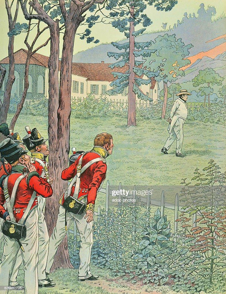 where was napoleon exiled