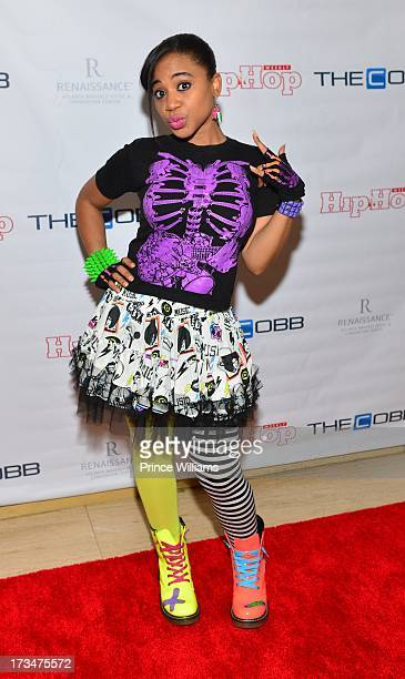 Reigndrop Lopes attends the Style Experience hosted By Cynthia Bailey Rasheeda and Kirk Frost And Benzino at Cobb Galleria Renaissance on July 14...