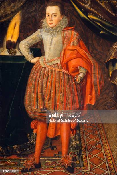 Reigned 1625 1649 by Robert Peake 1610 Oil on canvas