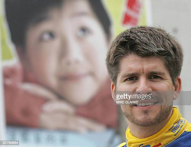 STORY AUTOHKGLEMANS Reigning Porsche Infineon Carrera Cup Asia champion Mathew Marsh poses for a picture in the Central district of Hong Kong 11 May...