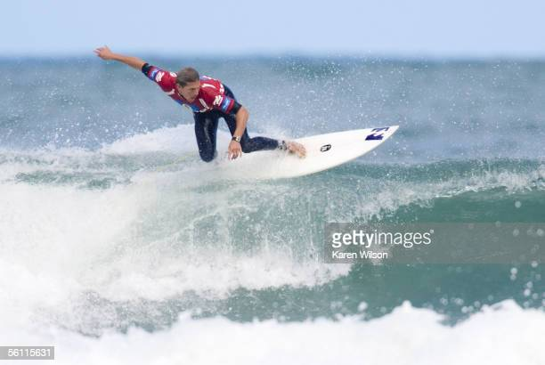 reigning three times ASP world champion Andy Irons of Kauai Hawaii continues his hopes of claiming a fourth world title when he eliminates wildcard...