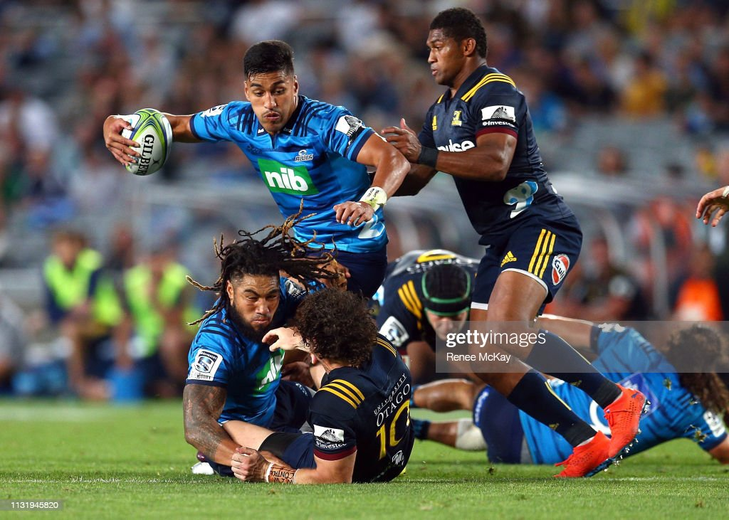 Super Rugby Rd 6 - Blues v Highlanders : News Photo