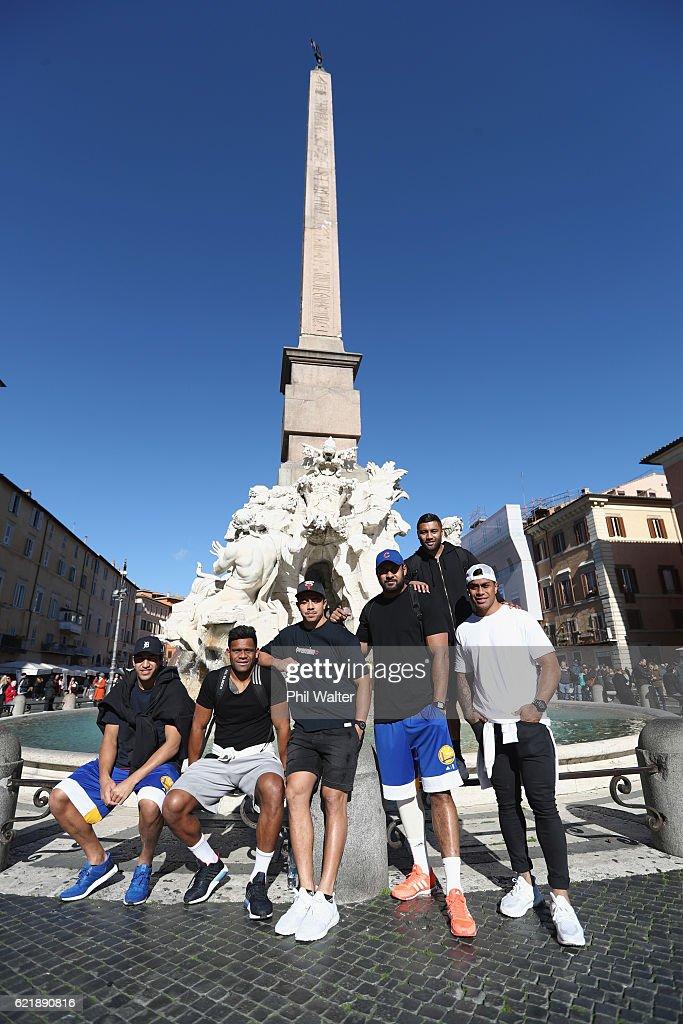 New Zealand All Blacks In Rome
