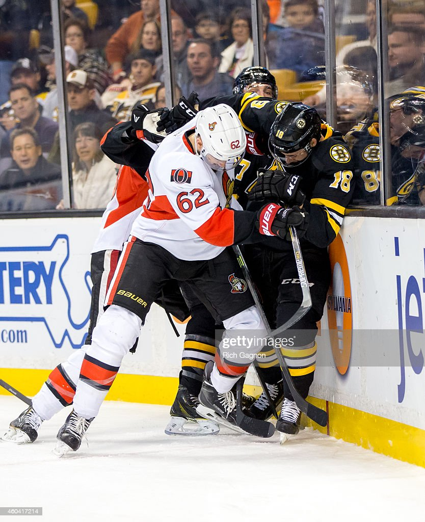 Ottawa Senators v Boston Bruins : News Photo