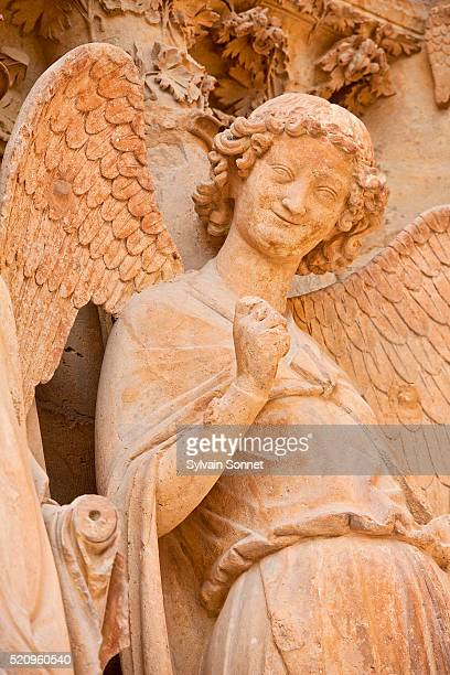 Reims Cathedral, Angel of the Smile