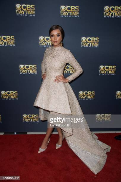 Rein Edwards attends the CBS Daytime Emmy After Party at Pasadena Civic Auditorium on April 30 2017 in Pasadena California