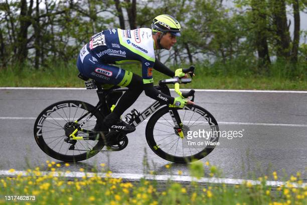 Rein Taaramae of Estonia and Team Intermarché - Wanty - Gobert Matériaux in the Breakaway during the 104th Giro d'Italia 2021, Stage 4 a 187km stage...