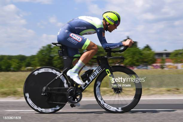 Rein Taaramae of Estonia and Team Intermarché - Wanty - Gobert Matériaux during the 104th Giro d'Italia 2021, Stage 21 a 30,3km Individual Time Trial...