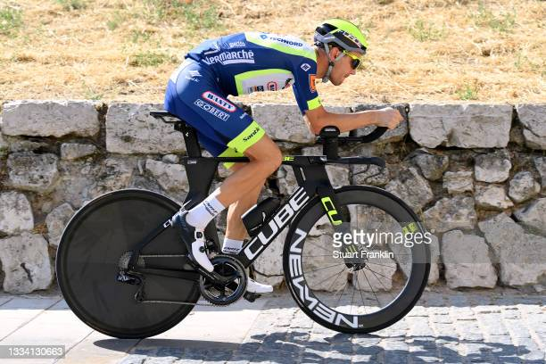 Rein Taaramae of Estonia and Team Intermarché - Wanty - Gobert Matériaux prepares for the race prior to the 76th Tour of Spain 2021, Stage 1 a 7,1km...