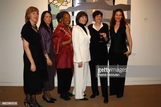 Reina Schiffrin Karen Pearl Marcia Gillespie Gloria Feldt Karen BrooksHopkins and Anna Gasteyer attend Choice Art Presents Planned Parenthood Auction...