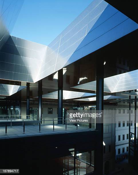 Reina Sofia Museum, Madrid, Spain, Architect Jean Nouvel Reina Sofia Museum Roof Terrace.
