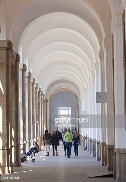 reina sofia museum - museo nacional centro de arte reina sofia stock pictures, royalty-free photos & images
