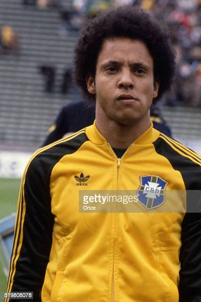 Reinaldo during the match between Brazil and Sweden played at Mar Del Plata Argentina on June 3rd 1978