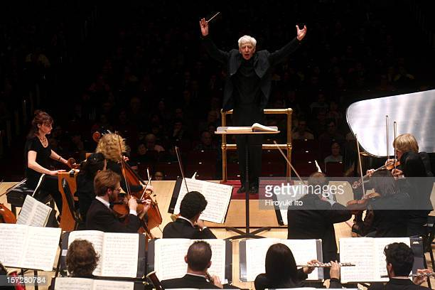Reinbert De Leeuw conducts the Philharmonia Orchestra of Yale in Messiaen's TurangalilaSymphonie at Carnegie Hall on Sunday night December 14...