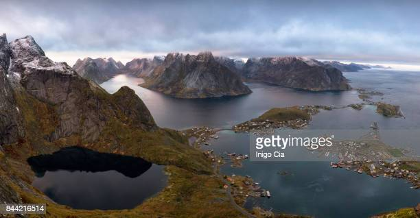 Reine fjord, Lofoten islands, Norway