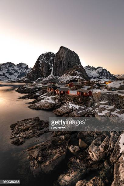 Reine - Lofoten Islands bay in Northern Norway