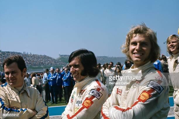 Reine Wisell Emerson Fittipaldi Ronnie Peterson Questor Grand Prix Ontario Motor Speedway California 28 March 1971