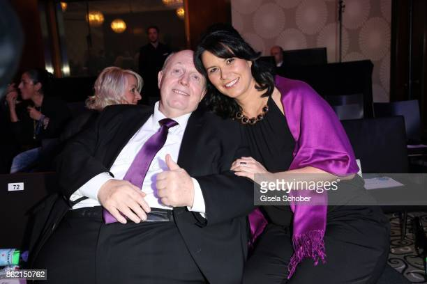Reiner Calmund and his wife Sylvia Calmund during the 2oth Busche Gala at The Charles Hotel on October 16 2017 in Munich Germany